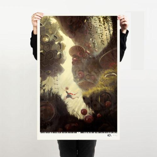 Blank Space Art Print 01
